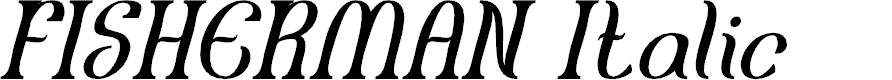 Preview image for FISHERMAN Italic