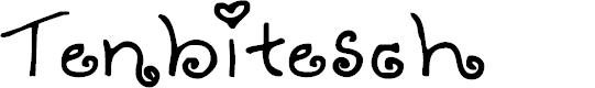 Preview image for Tenbitesch Font