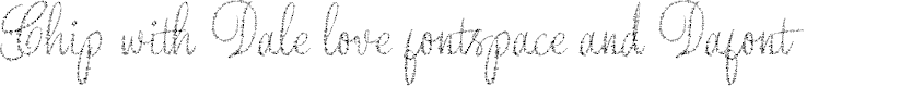 Preview image for Yore script Font