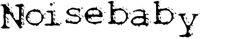 Preview image for Noisebaby Font