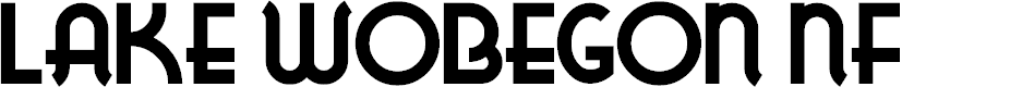 Preview image for LakeWobegonNF Font