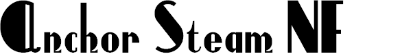 Preview image for AnchorSteamNF Font