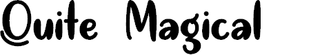 Preview image for Quite Magical Regular Font