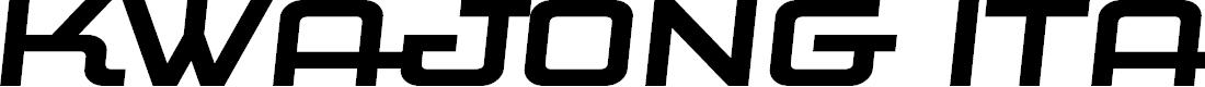 Preview image for Kwajong Italic