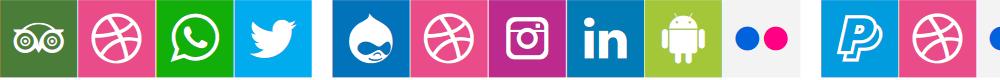 Preview image for Font Social Colors Font