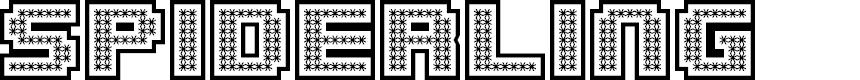 Preview image for Spiderling Inverse Regular Font