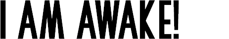 Preview image for I Am Awake Font