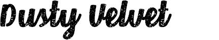 Preview image for Dusty Velvet Regular Font