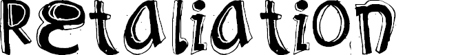 Preview image for Retaliation Font