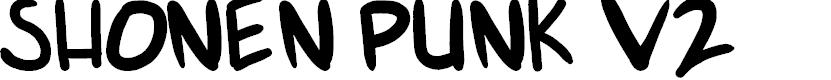 Preview image for shonen punk v2 Font