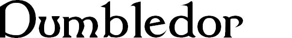 Preview image for Dumbledor 1 Font