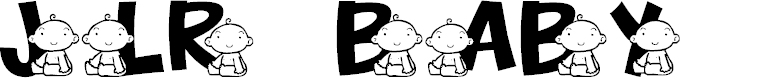 Preview image for JLR Baby Font