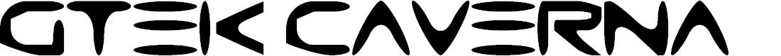 Preview image for Gtek Caverna Font