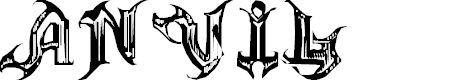 Preview image for ANVIL Font