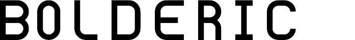 Preview image for Bolderic Regular Font