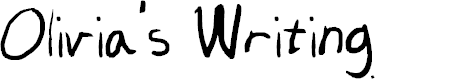 Preview image for Olivia's Writing Font