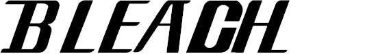 Preview image for Bleach Font