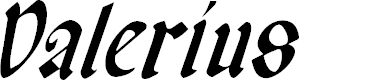 Preview image for Valerius Condensed Italic