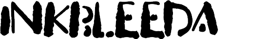 Preview image for Inkbleeda Font