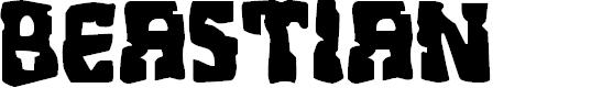 Preview image for Beastian Regular Font