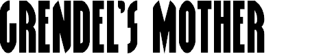 Preview image for Grendel's Mother Font