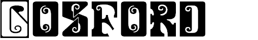 Preview image for Gosford Font