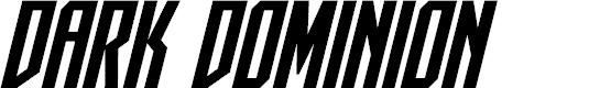 Preview image for Dark Dominion Bold Italic