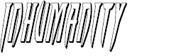 Preview image for Inhumanity 3D Italic