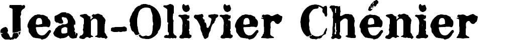 Preview image for Chenier Regular Font