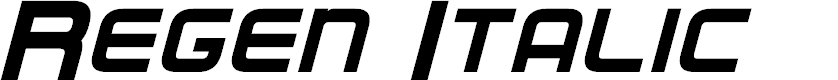 Preview image for Regen Italic