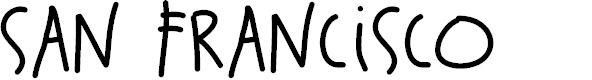 Preview image for SanFrancisco Font