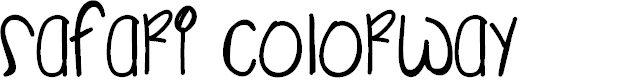 Preview image for SafariColorway Font