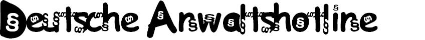 Preview image for Deutsche Anwaltshotline Font