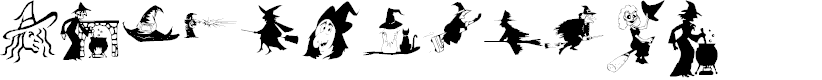 Preview image for KR Oh Witchy Poo! Font