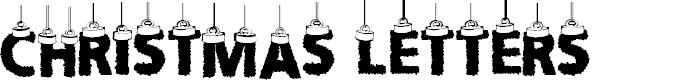 Preview image for CF Chritsmas Letters Regular Font