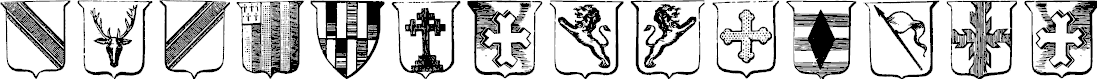 Preview image for Wappen Font