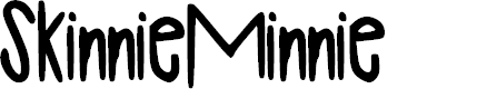 Preview image for SkinnieMinnie Font