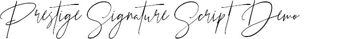 Preview image for Prestige Signature Script - Demo