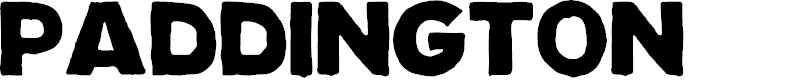 Preview image for Paddington Font