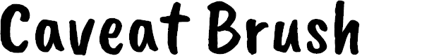 Preview image for Caveat Brush
