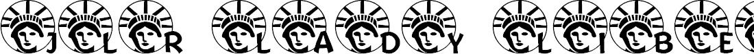 Preview image for JLR Lady Liberty LSF Font