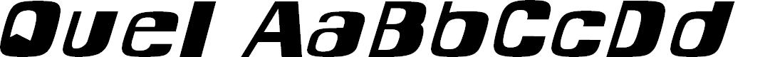 Preview image for Quel Font