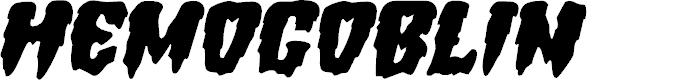 Preview image for Hemogoblin Expanded Italic