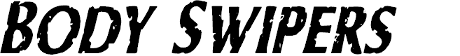 Preview image for Body Swipers Condensed Italic