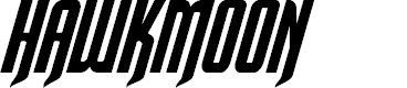 Preview image for Hawkmoon Italic Font