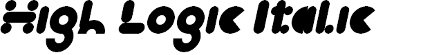 Preview image for High Logic Italic