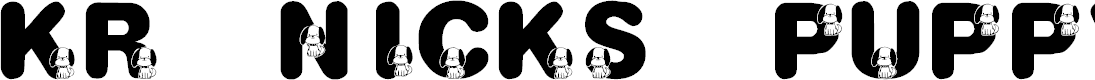 Preview image for KR Nick's Puppy 1 Font
