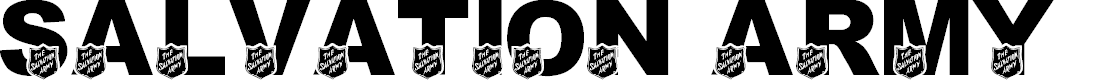 Preview image for LMS Salvation Army Font