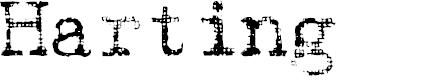 Preview image for Hartin2 Regular Font