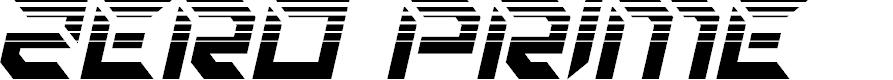 Preview image for Zero Prime Halftone Italic